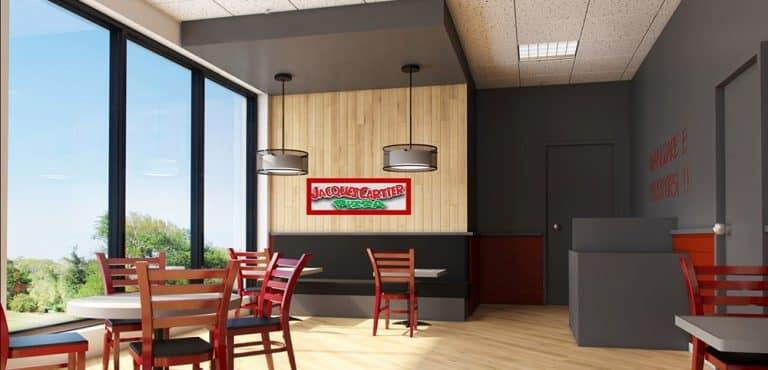 Jacques Cartier Pizza Franchise Livraison