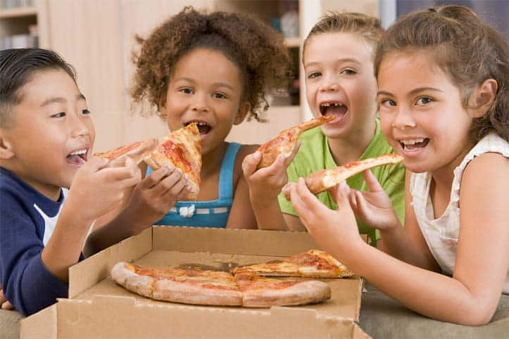 children pizza