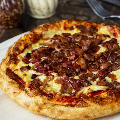 Jacques Cartier Pizza Bacon Fromage