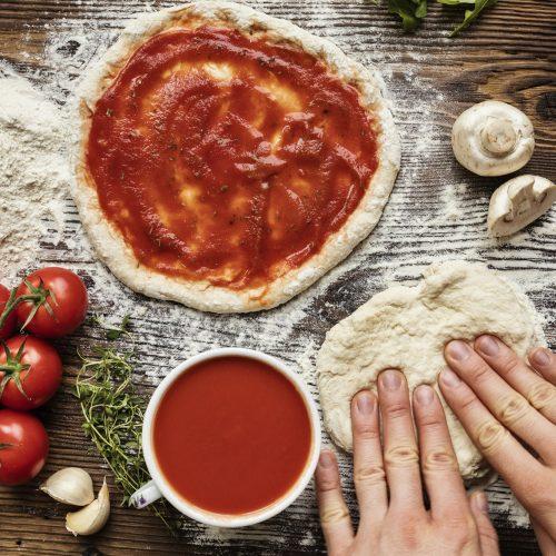 Jacques Cartier Pizza Pate Legumes